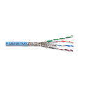 Category 7 10GBASE-T 1200 MHz 23 AWG Solid 4-Pair - Ice Blue - Per Foot