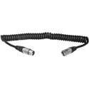 Anton Bauer CC-4XLR 5-pin XLRM to 4-pin XLRF Coiled Power Cable 1Ft to 5Ft
