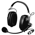 Clear-Com CC-60 Double-Ear Enclosed General Purpose Intercom Headset