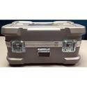 CDC 919 Super-Shipper Case with Built-In Wheels - 26in L x 16in W x 12in D - Silver - With Foam