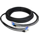 Laird CES-RJ45-25 4-Channel RJ45 CAT5e Tactical Ethernet Snake Cable - 25 Foot