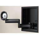 Chief JWDIW210B Universal Dual Swing Arm for 24 to 45 Inch Flat Panels