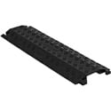 Checkers FL1X1.5-B FastLane 1 Channel Drop Over Cable Protector - 3 Foot - Black