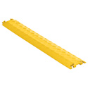 Checkers FL1X1.5-Y FastLane 1 Channel Drop Over Cable Protector - 3 Foot - Yellow