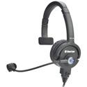 Clear-Com CC-110-X5 Premium Lightweight Single On-Ear Intercom Headset - 5-Pin Male XLR