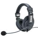 Clear-Com CZ11459 HS15D Double-ear Headset - 4F Four Pin Female XLR Connector