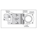 Clear-Com EB7-4W Headset Module 4 Wire