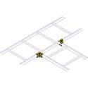 90 Degree Ladder Horizontal T Splice