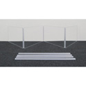 Clearsonic AX2412X4 12 Inch Height Extenders for 4-Section Shields