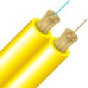 Cleerline D29125SMOSP SSF Indoor/Outdoor Fiber Optic Duplex Cable - Singlemode - Plenum - 1000 Foot