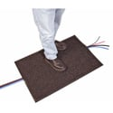 Connectronics Charcoal Gray 24in x 36in Cable Crossover Mat & Cable Protector