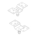 Community Pro CMKIT Ceiling Mount Kit - White