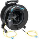 Camplex CMX-LTR02LC-1000 2-Channel LC Single mode Indoor-Outdoor Fiber Optic Snake Reel - 1000 Foot