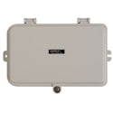 Camplex CMX-MPWB-06M Plastic Wall Mount Terminal Box with Swing Out Splice Tray for up to 6 Simplex Fiber Adapters