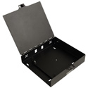 Camplex CMX-MPWB-24M Steel Wall Mount Enclosure with Hinged Door for 1 Fiber Adapter Plate Module and up to 24 fibers