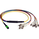 Camplex CMX-MTPSMST-003 MTP Elite APC Male to 12 ST UPC Duplex External Yellow Single Mode Fiber Breakout Cable-3 Foot