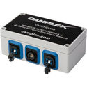 Camplex Singlemode OpticalCon QUAD NO4FDW-A to (4) SC Female Breakout Box