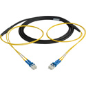Camplex CMX-TS02LC-0100 2-Channel LC Single Mode Fiber Optic Tactical Snake 100 Foot