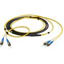 Camplex CMX-TS02ST-0250 2-Channel ST Singlemode Fiber Optic Tactical Snake 250 Foot