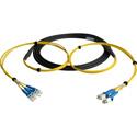 Camplex CMX-TS04LC-0250 4-Channel LC Singlemode Fiber Optic Tactical Snake 250 Foot