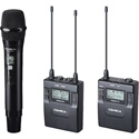 Comica CVM-WM300B Wireless Dual Mic Kit (Li-ion) (1 Mic - 1 Lav - 1 TX - 1 RX)
