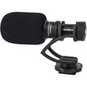 Comica CVM-VM10II-B Mini On-Camera Directional Shotgun Mic for Smartphones & DLSRs - Black