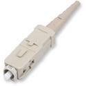 Corning 95-000-41 UniCam High-Performance SC Connector - 62.5um Multimode - Ceramic Ferrule - Single Pack - Beige