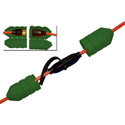 Cord Connect Watertight Cord Lock - Landscape Green