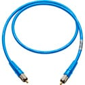 Laird CR-CR-10-BE Canare LV-61S RCA to RCA Video Cable - 10 Foot Blue