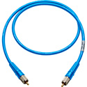 Laird CR-CR-18IN-BE Canare LV-61S RCA to RCA Video Cable - 18 Inch Blue