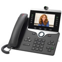 Cisco CP-8865-K9 8865 IP Phone Wired/Wireless Wall Mountable Charcoal VoIP IEEE 802.11a/b/g/n/ac Caller ID