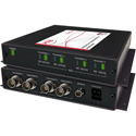 Artel FiberLink 3517-B7S Singlemode 2 Channel Bidirectional 3G/HD/SD-SDI Over 1-Fiber Box with ST Connectors - Receiver