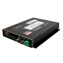 Artel FiberLink 7130-B3S 1310nm Multimode 15MHz Wideband Video & 4 Channel Audio Box with ST Connectors - Transmitter