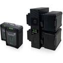 Core SWX NANO-V98K4 Compact V-Mount Battery Kit - Q4 NANOV98 and Q1 GPX4S Hard Bundle