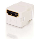 Snap-In HDMI F/F Keystone Insert Module - White