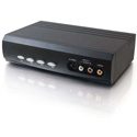 4x2 S-Video/Composite Video & Stereo Audio Selector Switch