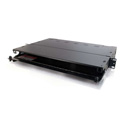 Q-Series 1u 3-Panel Rackmount Fiber Optic Enclosure