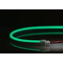 City Theatrical N914-G-10 QolorFLEX NuNeon LED Light Tape - 518nm Color Temp - Green - 32.8 Feet