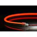 City Theatrical N914-R-10 QolorFLEX NuNeon LED Light Tape - 622nm Color Temp - Red - 32.8 Feet