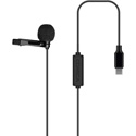 Comica CVM-V01SP(UC)(4.5M) Omni-Directional Lavalier Microphone for USB-C Smartphone - 14.7 Foot
