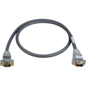 15-Pin Hi-Density Male to Male VGA Cable 25 Foot