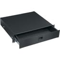 Middle Atlantic D2 2-Space Anodized Rack Drawer