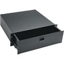 Middle Atlantic D3 3-Space Anodized Rack Drawer