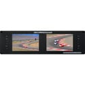 Delvcam Broadcast 3GHD/SD Multiformat Dual 7-Inch Rackmount Video Monitor