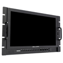 Delvcam DELV-3GHD-17RM 17.3-Inch High Resolution - HDMI Rackmount LCD Monitor - B-Stock (Replaced PWR Supply/Packaging)
