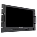 Delvcam DELV-3GHD-17RM 17.3-Inch High Resolution - HDMI Rackmount LCD Monitor - Bstock (Replaced PWR Supply/Packaging)