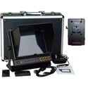 Delvcam  9.7in. SDI Monitor - Dual HDMI Input & 1 HDMI Output & V-Mount Battery Plate