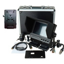 Delvcam 7 Inch Camera-Top Monitor w/ Video Waveform and V-Mount Battery Plate