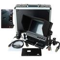Delvcam 7in. Camera-Top SDI Monitor w/ Video Waveform and Anton Bauer Mount
