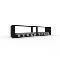 Digital Forecast UHD M-PLUS D UHD Micro Frame Dual Power Supply Rack - 120W / 2RU
